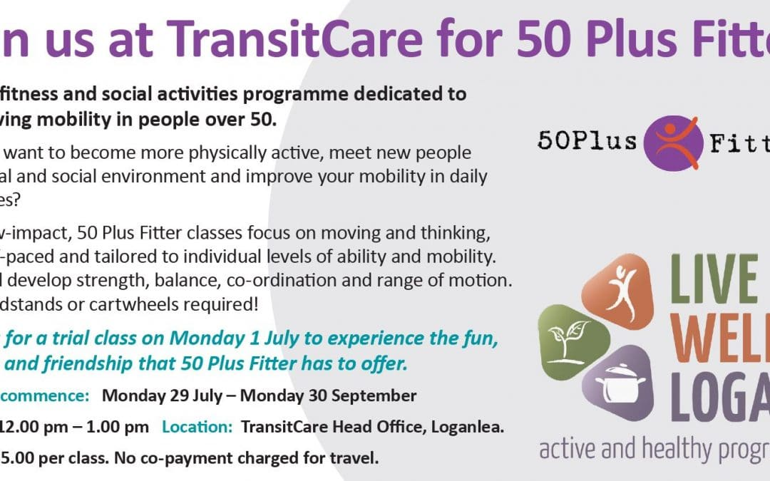 Join us for 50 Plus Fitters!