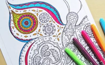 Free Adult Colouring Books